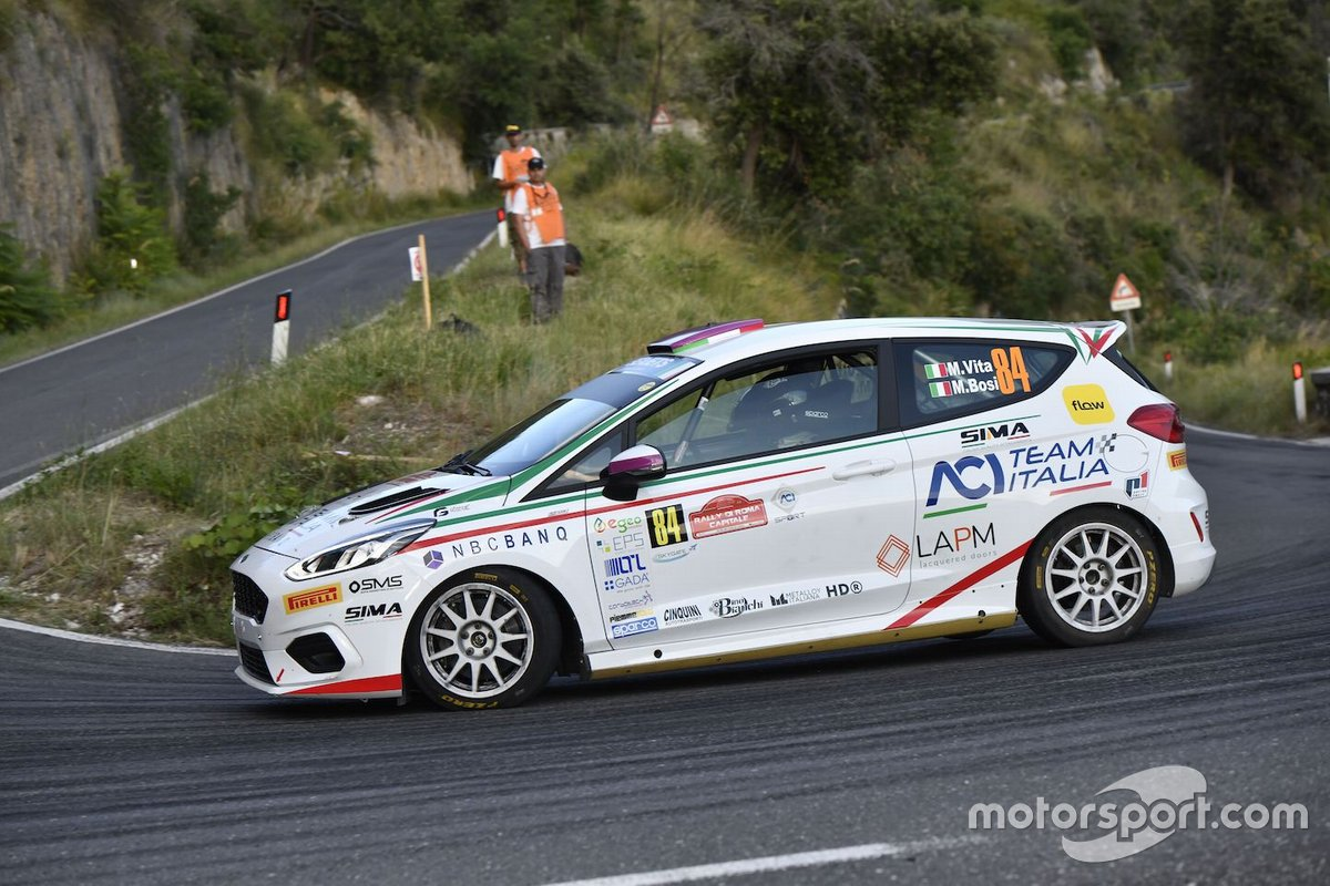 Mattia Vita, Massimiliano Bosi, ACI Team Italia, Ford Fiesta Rally4