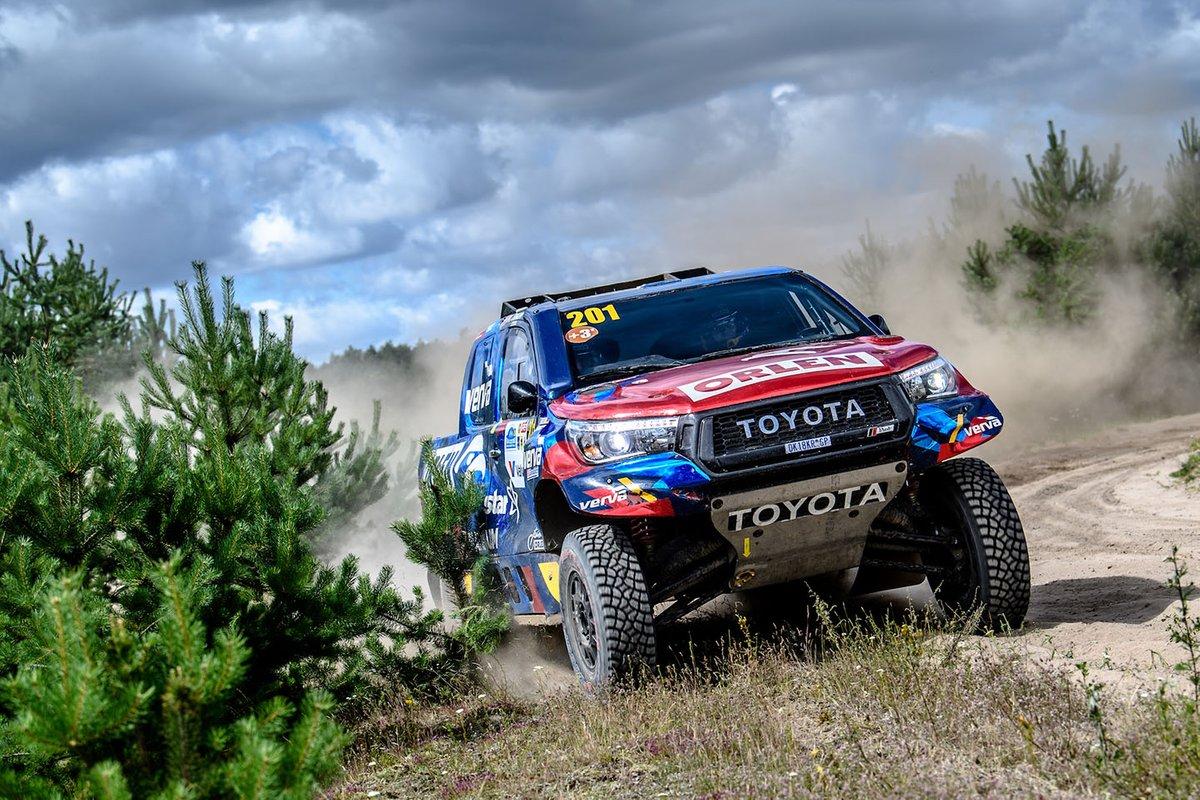 Kuba Przygoński, Timo Gottschalk, Toyota Hillux