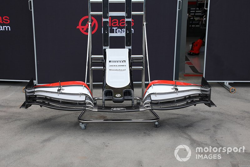 Haas F1 Team VF-20 nose detail