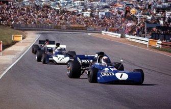 Jackie Stewart, Mike Hawthorne, Emerson Fittipaldi
