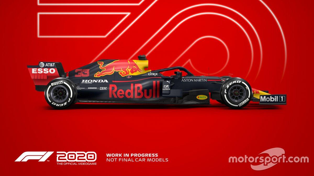 El Red Bull en F1 2020