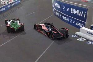 Oliver Rowland, Nissan e.Dams, Kelvin van der Linde, Audi Sport ABT Schaeffler