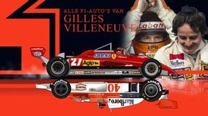 All Gilles Villeneuve's F1-cars, screenshot Dutch video