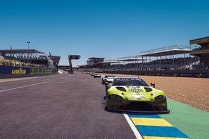 #95 Aston Martin Racing Aston Martin Vantage GTE: Nicki Thiim, Richard Westbrook, Lasse Sorensen, Manuel Biancolilla