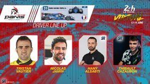 Line-up #31 Panis Racing