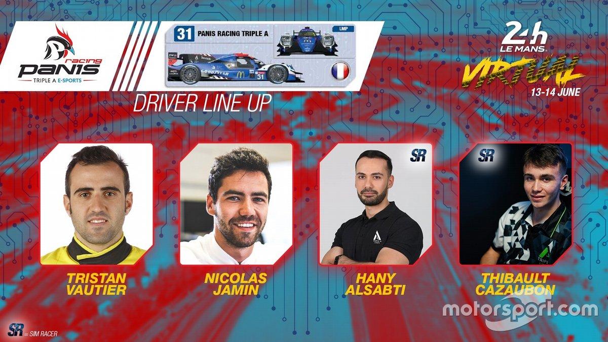 #31 Panis Racing Triple A - Oreca 07 LMP2