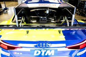 La voiture de Mike Rockenfeller, Audi Sport Team Phoenix, Audi RS 5 DTM
