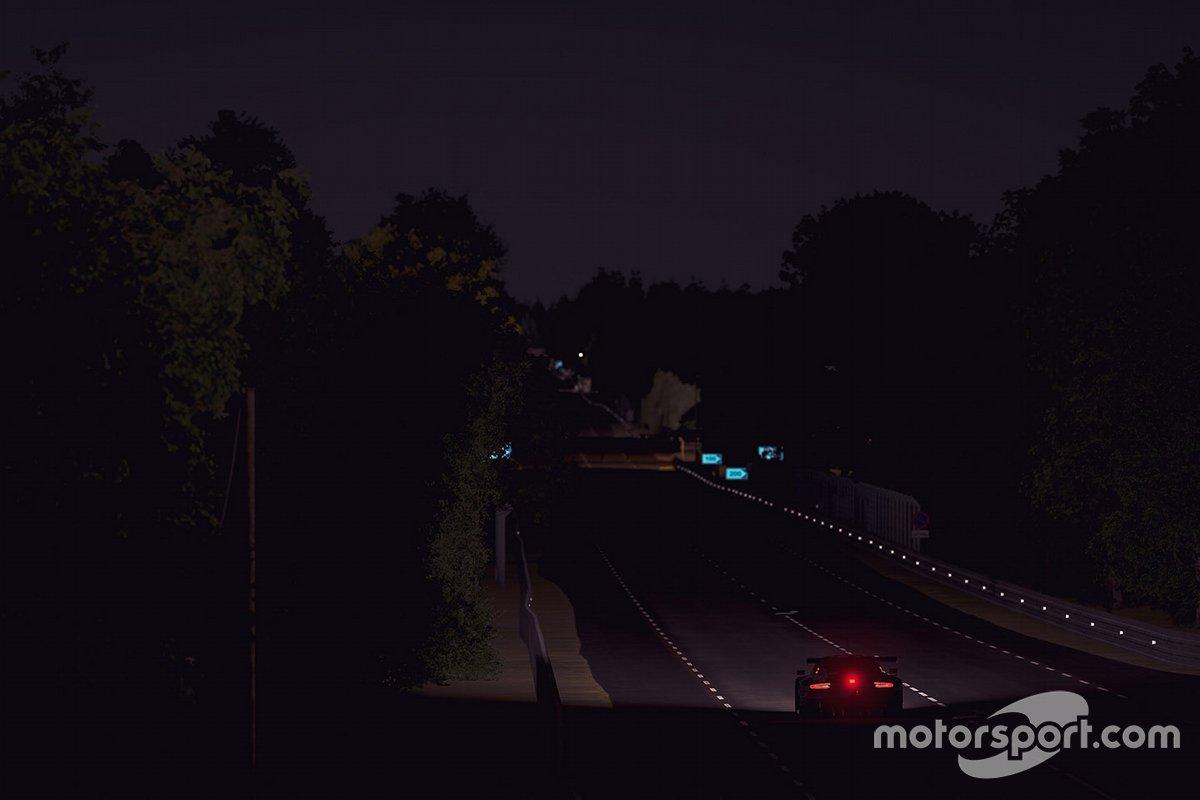 Acciones de noche