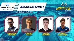 Line-up #24 Veloce Esports 1