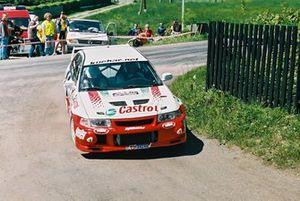 Tomasz Kuchar, Krzysztof Gęborys, Mitsubishi Lancer Evo VI