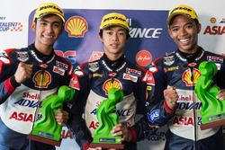 Podium pada Race 1 di Sirkuit Zhuhai
