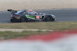 #46 Sports & You, Mercedes-AMG GT3: Louis-Philippe Soenen, Angélique Detavernier, Jose Manuel Balbia