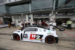 #74 ISR Audi R8 LMS: Henry Hassid, Philippe Giauque, Franck Perera