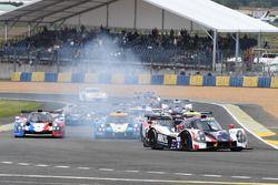 #2 United Autosports Ligier JSP3 - Nissan: Martin Brundle, Christian England