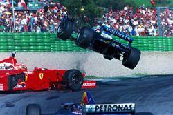 Jean Alesi-Eddie Irvine