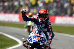 Second place Fabio Di Giannantonio, Gresini Racing Team Moto3