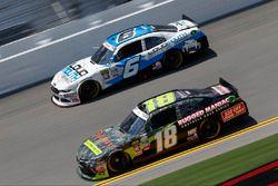 David Ragan, Joe Gibbs Racing Toyota, Cole Custer, Chevrolet