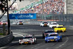 António Félix da Costa, BMW Team Schnitzer, BMW M4 DTM; Gary Paffett, Mercedes-AMG Team ART, Mercede