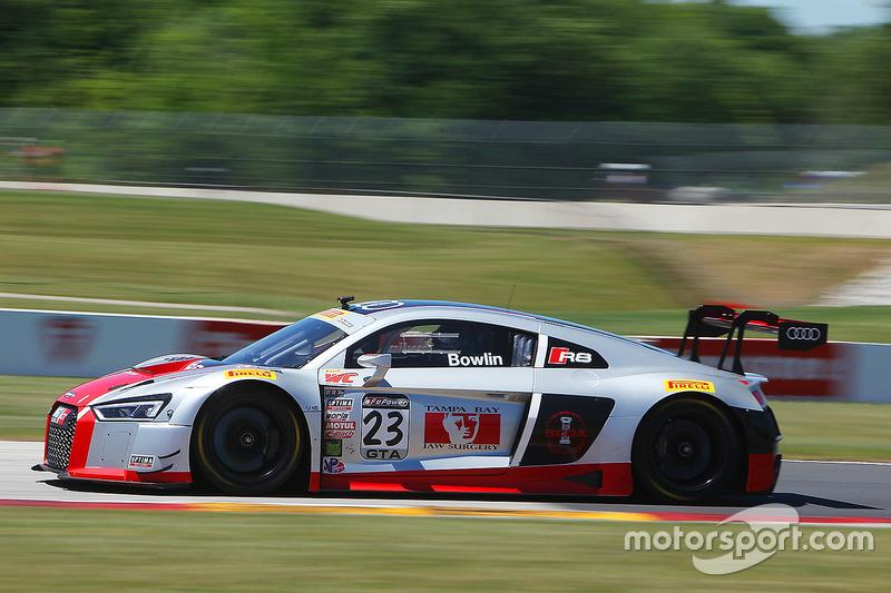 #23 M1 GT Racing Audi R8 LMS: Walt Bowlin
