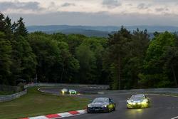 #43 AF Racing AG / R Motorsport, Aston Martin Vantage V8: Dr. Andreas Bänziger, Peter Lemhuis;#5 Pho