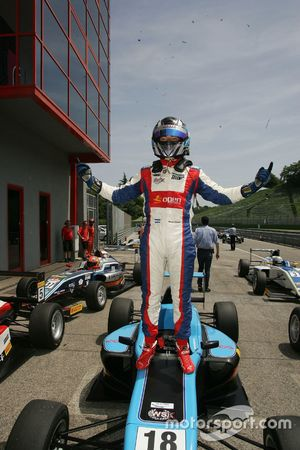 Il vincitore Marcos Siebert, Jenzer Motorsport