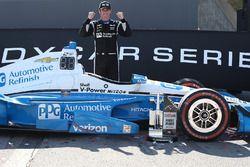 Le vainqueur Simon Pagenaud, Team Penske Chevrolet