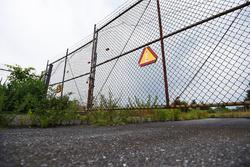 Gate 2: Eingang zum stillgelegten Nazareth Speedway