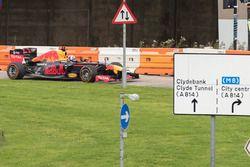 David Coulthard, a Red Bull Racing bemutatóján