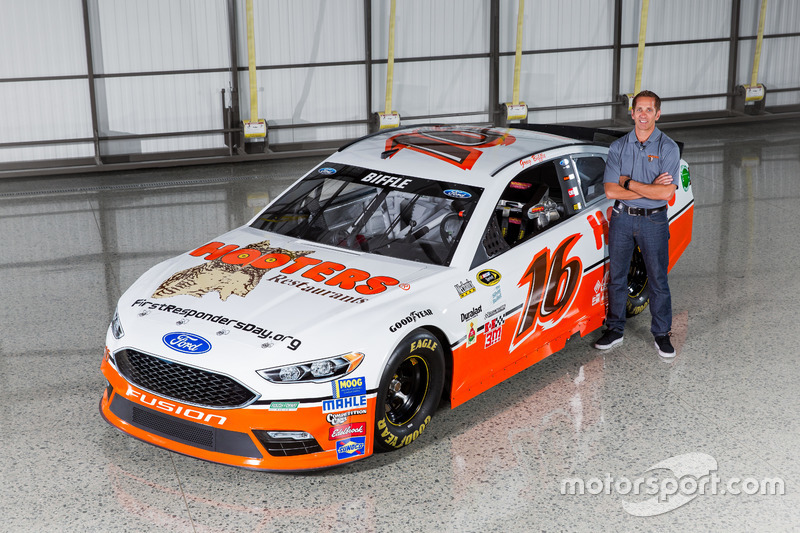 Throwback-Design von Greg Biffle, Roush Fenway Racing, Ford