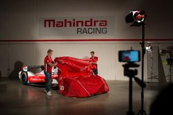 Mahindra Racing team presentation with drivers Felix Rosenqvist and Nick Heidfeld