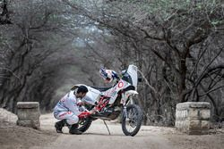 CS Santosh, Hero MotoSports Team Rally at Mandvi