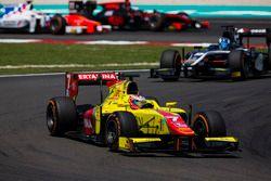 Mitch Evans, Pertamina Campos Racing, vor Raffaele Marciello, RUSSIAN TIME