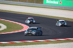 Attila Tassi (HUN) Seat Leon, B3 Racing Team Hungary and Dusan Borkovic, Seat Leon, B3 Racing Team Hungary