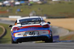 #46 Team TGM Porsche Cayman GT4: Ted Giovanis, Guy Cosmo