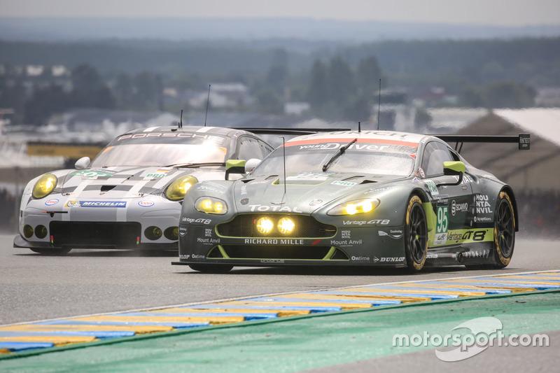 23rd: #95 Aston Martin Racing Aston Martin Vantage: Nicki Thiim, Marco Sorensen, Darren Turner