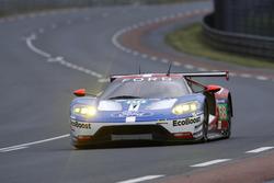 #68 Ford Chip Ganassi Racing Ford GT: Joey Hand, Dirk Mテシller, Sテゥbastien Bourdais