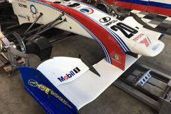 Yuhi Sekiguchi, Team Impul car nose detail