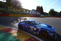 #56 Black Falcon, Mercedes-AMG GT3: Abdulaziz Al Faisal, Daniel Juncadella, Oliver Morley, Miguel To