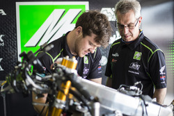 SIC Racing Team mechanics at work