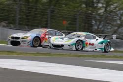#7 BMW Team Studie, BMW M6 GT3: Jörg Müller, Seiji Ara; #2 Cars Tokai Dream28, Lotus Evora: Kazuho T