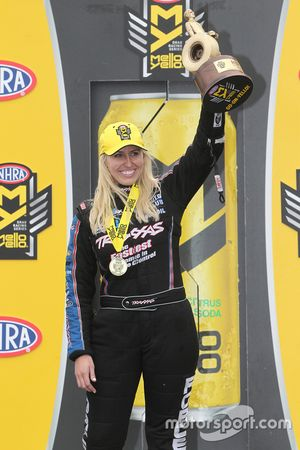 Funny Car winner Courtney Force