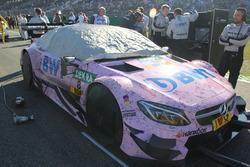 The car of Christian Vietoris, Mercedes-AMG Team Mücke, Mercedes-AMG C63 DTM