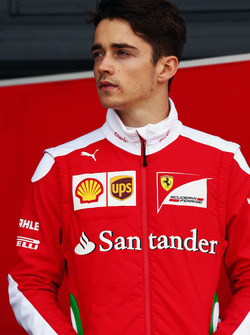 Charles Leclerc, Ferrari, Testfahrer