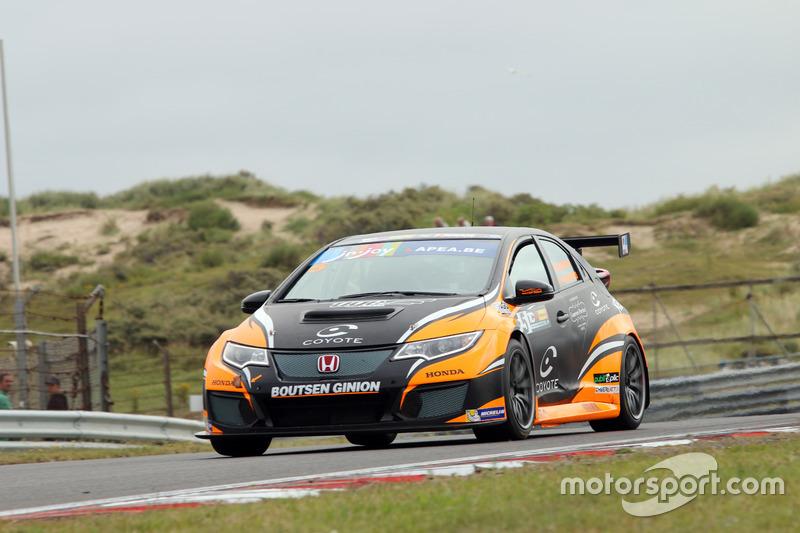 Benjamin Lessennes, Ranud Kuppens,Boutsen Ginion Racing, Honda Civic TCR