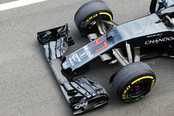 Aileron avant de la McLaren MP4-31
