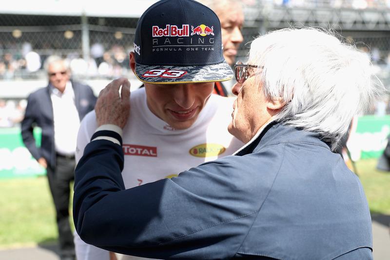 Max Verstappen, Red Bull Racing ve Bernie Ecclestone