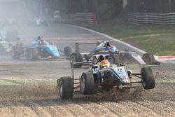 Kush Maini, BVM Racing, dans les graviers
