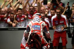 Race winner Andrea Dovizioso, Ducati Team