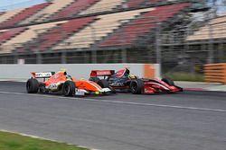 Louis Deletraz, Fortec Motorsports and Tom Dillmann, AVF