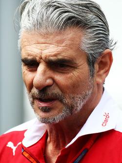 Маурицио Арривабене, руководитель Ferrari